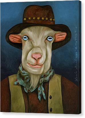 Canvas Print - Billy The Kid by Leah Saulnier The Painting Maniac