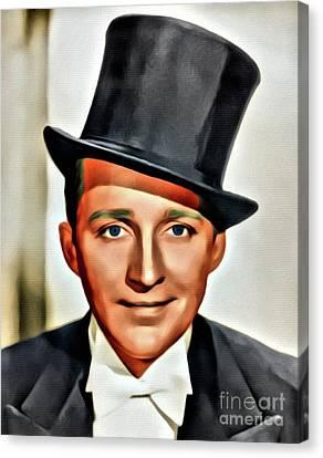 Bing Crosby, Hollywood Legend Canvas Print