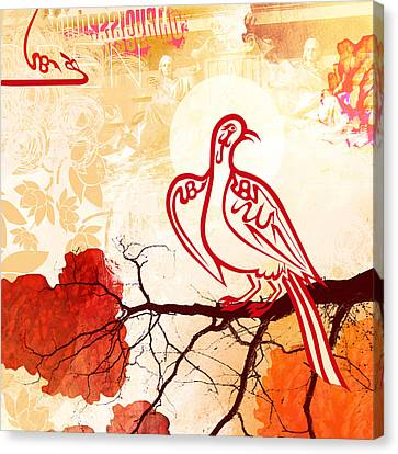 Bird Of Glory 1 Canvas Print by Misha Maynerick
