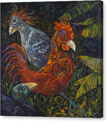Birditudes Canvas Print