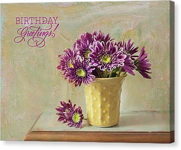 Birthday Wishes Canvas Print