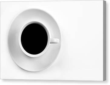 Black Coffee Canvas Print by Gert Lavsen