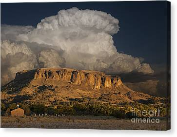 Black Mesa Canvas Print by Keith Kapple