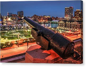 Blast From The Past  Canvas Print by Wayne King