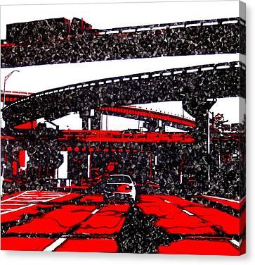 Bloody95 Canvas Print by Jason Charles Allen
