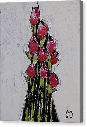 Bloom No. 1  Canvas Print by Mark M  Mellon