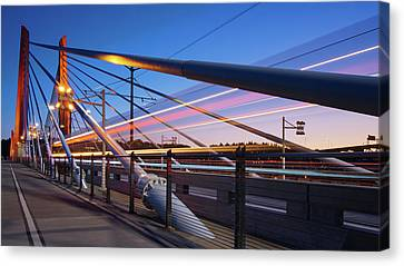 Blue Hour Blur #2 Canvas Print by Patrick Campbell