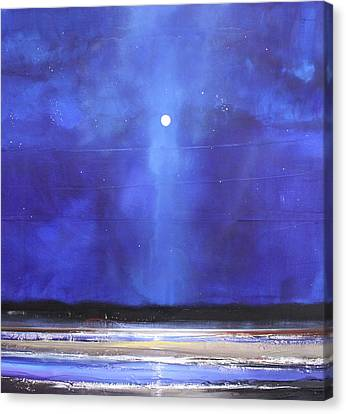 Blue Night Magic Canvas Print by Toni Grote