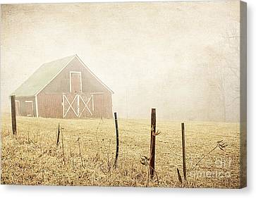 Blue Ridge Farm Canvas Print by Darren Fisher