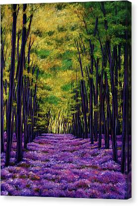 Bluebell Vista Canvas Print by Johnathan Harris