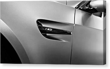 Canvas Print featuring the photograph Bmw M3  by Aaron Berg