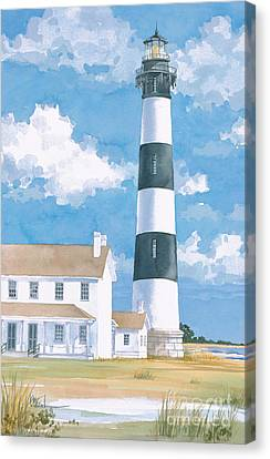 Bodie Island Lighthouse Canvas Print by Paul Brent