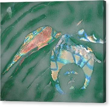 Boneyard Canvas Print by Mark Lubich