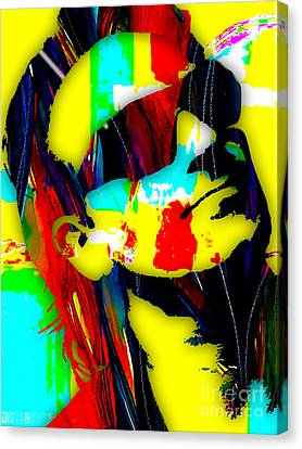 Bono Canvas Print - Bono Collection by Marvin Blaine