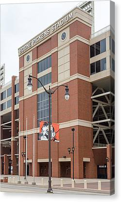 Boone Pickens Stadium At Oklahoma State University Canvas Print