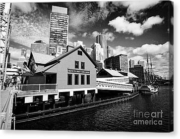 Boston Tea Party Museum Usa Canvas Print