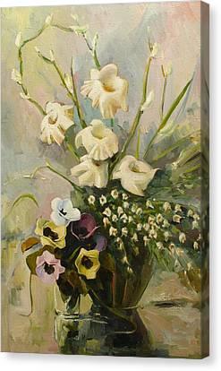 Bouquet Canvas Print by Tigran Ghulyan