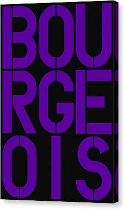 Bourgeois Canvas Print by Three Dots