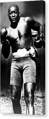 Boxer Jack Johnson, Ca. 1910s Canvas Print by Everett