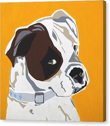 Boxer  Canvas Print by Slade Roberts