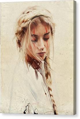 Braid Canvas Print