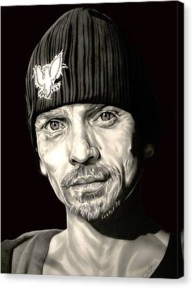 Breaking Bad Skinny Pete Canvas Print by Fred Larucci