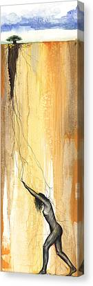 Breaking Out Canvas Print by Anthony Burks Sr