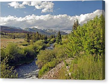 Breckenridge Colorado Canvas Print