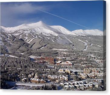 Breckenridge Powder Day Canvas Print