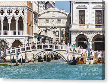 Bridge Of Sighs Canvas Print by Svetlana Sewell
