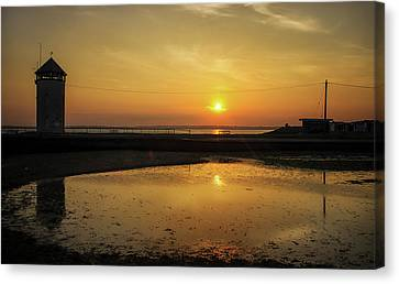 Brightlingsea Beach Canvas Print