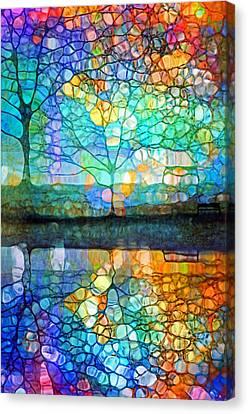 Penticton Canvas Print - Bring Me Joy by Tara Turner