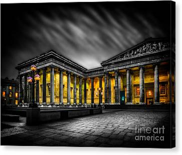 British Museum Canvas Print by Adrian Evans