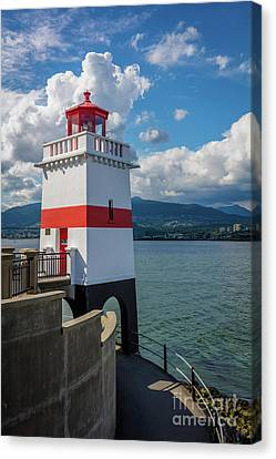 Brockton Point Lighthouse Canvas Print