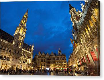 Brussels, Belgium Canvas Print by Axiom Photographic