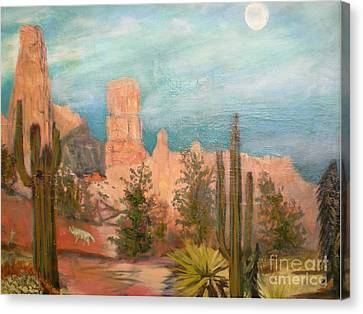 Bryce Canyon Canvas Print by Hal Newhouser