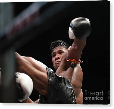 Buakaw The Muay Thai Master Canvas Print