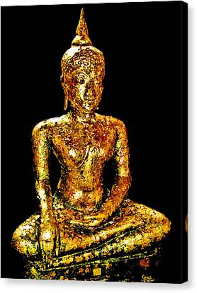 Buddha. Siam. The Kingdom Of Thailand. Canvas Print by Andy Za