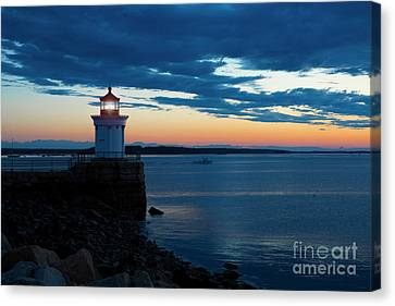 Bug Light, Portland Maine Canvas Print