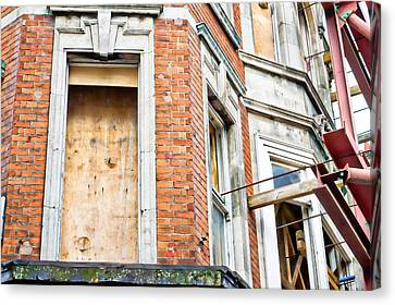 Building Work Canvas Print