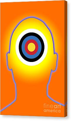 Bullseye Canvas Print