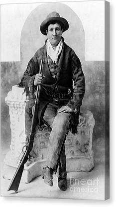 Calamity Jane, American Frontierswoman Canvas Print by Science Source