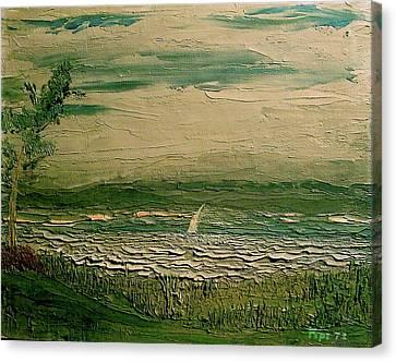 Calibogue Sound Canvas Print