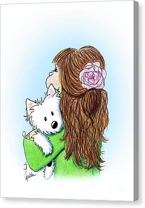 Canvas Print - Can I Keep Him? by Kim Niles