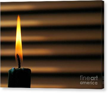 Candle Canvas Print by Odon Czintos