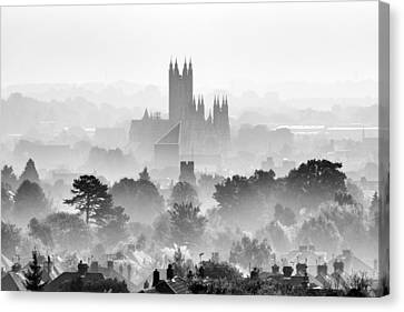 Canterbury Canvas Print by Ian Hufton
