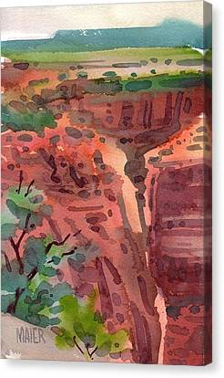 Canyon De Chelly Canvas Print by Donald Maier