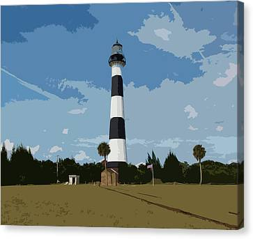Cape Canaveral On The East Coast Of Florida Canvas Print by Allan  Hughes