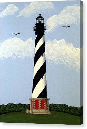 Cape Hatteras Lighthouse Canvas Print by Frederic Kohli