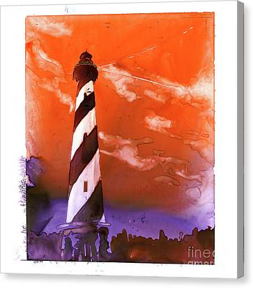 Cape Hatteras Lighthouse Canvas Print by Ryan Fox